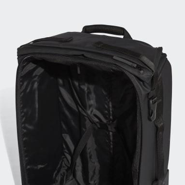 Házená černá Taška na kolečkách Small