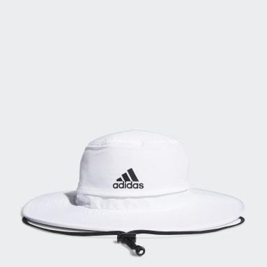 ผู้ชาย กอล์ฟ สีขาว หมวกกันแสงยูวี