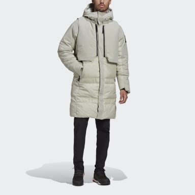 Men City Outdoor Grey MYSHELTER COLD.RDY Parka