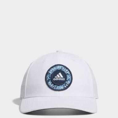 Cappellino Circle Patch Snapback Bianco Uomo Golf