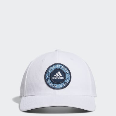 Heren Golf Wit Circle Patch Snapback Pet