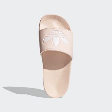 Ženy Originals růžová Pantofle adilette Lite