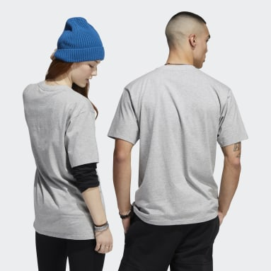 Originals Grey I Only Walk Tee (Gender Neutral)