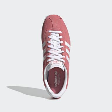 Dames Originals Roze Gazelle OG Schoenen