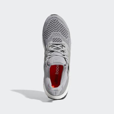 Men Running Grey Ultra Boost Shoes