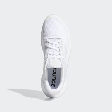 Men Running White Alphatorsion Shoes