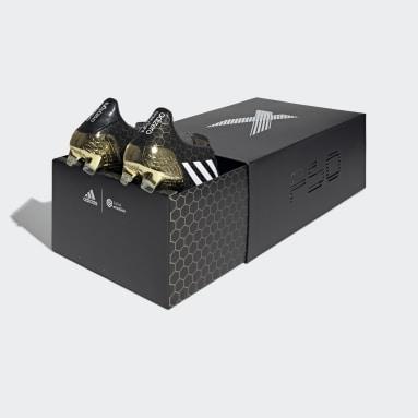 Mænd Fodbold Sort F50 Ghosted Adizero Crazylight Firm Ground støvler