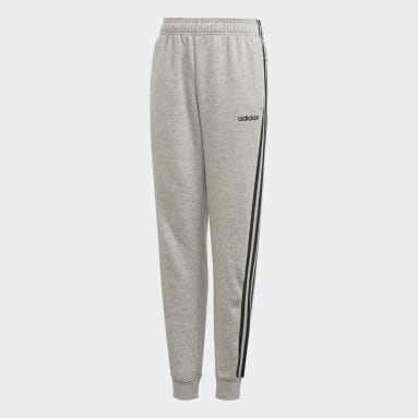 Boys Sportswear Grey Essentials 3-Stripes Pants