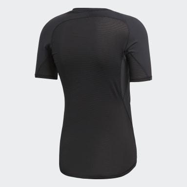 ผู้ชาย โยคะ สีดำ เสื้อยืด Alphaskin Sport