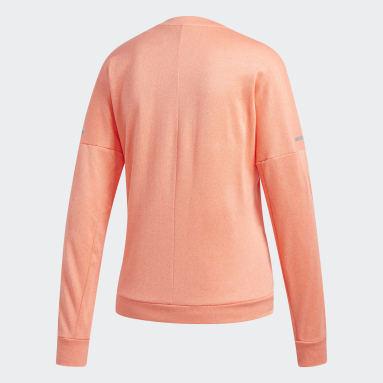 Dam Löpning Orange Response Långärmad tröja