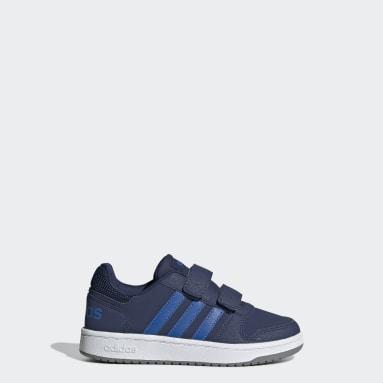 Barn Basket Blå VS Hoops 2.0 Shoes