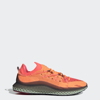Men Originals Orange 4D Fusio Shoes