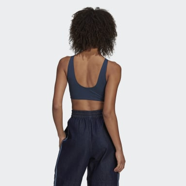 Women's Originals Blue Fakten Bra Top