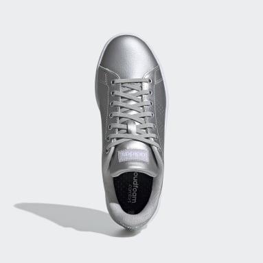 Women Sport Inspired Silver Advantage Shoes