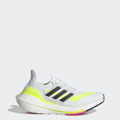 Chaussure Ultraboost 21 blanc Adolescents Course