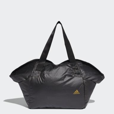 Women Gym & Training Black Sports Ripstop Duffel Bag