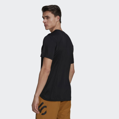 Men Five Ten Black Five Ten Bike TrailX Tee