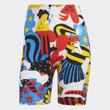 Women Sportswear Multicolour adidas Sportswear Egle Graphic Bike Shorts