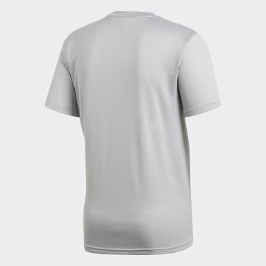 Camisa Treino Core 18 Cinza Homem Futebol
