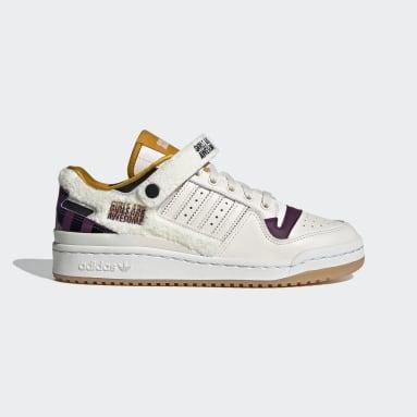 Frauen Originals Forum Lo Girls Are Awesome Schuh Weiß
