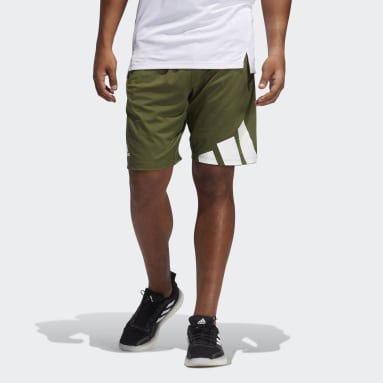 Men Cricket Green 4KRFT Shorts