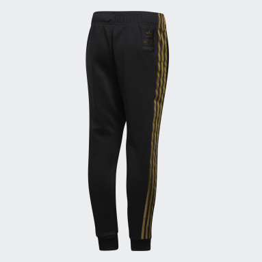 Kids Originals Black SST 24K Tracksuit Bottoms