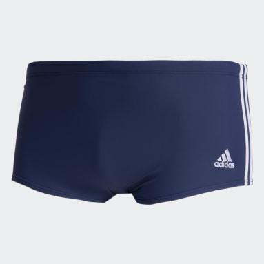 Sunga 3-Stripes Wide Azul Homem Natação