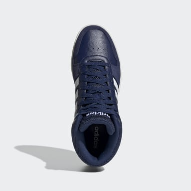 Zapatillas Hoops Mid 2.0 Azul Hombre Essentials