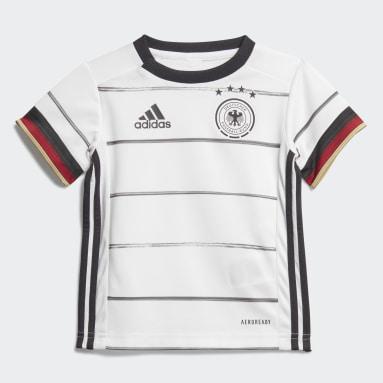 Kinder Fußball DFB Mini-Heimausrüstung Weiß