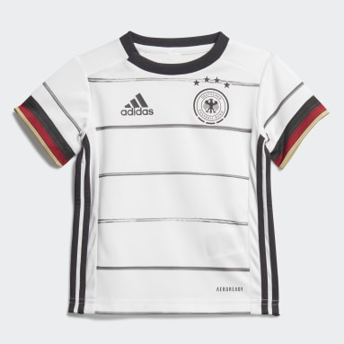 Kids Football White Germany Home Baby Kit