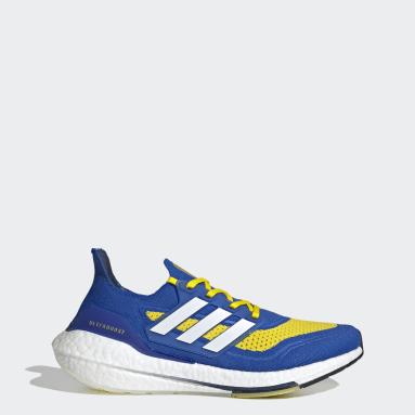 Tenis Ultraboost 21 Azul Hombre Running