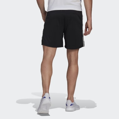 Shorts Primeblue Designed To Move Sport 3 Tiras Negro Hombre Training
