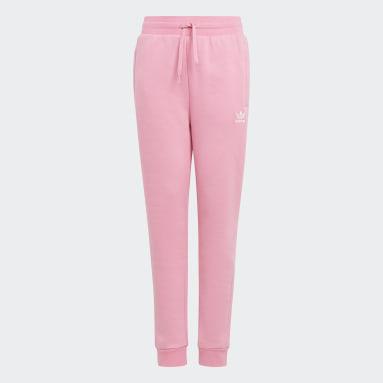 Pantalon Adicolor Rose Enfants Originals