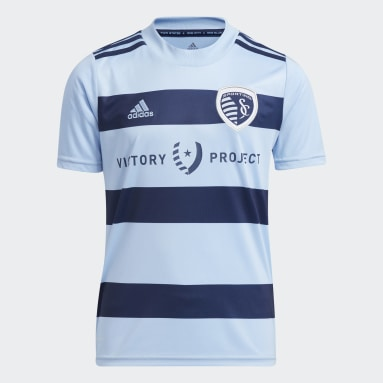 Youth Soccer White Sporting Kansas City 21/22 Home Jersey
