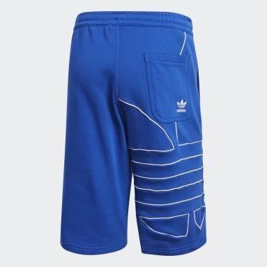 Big Trefoil Shorts Niebieski