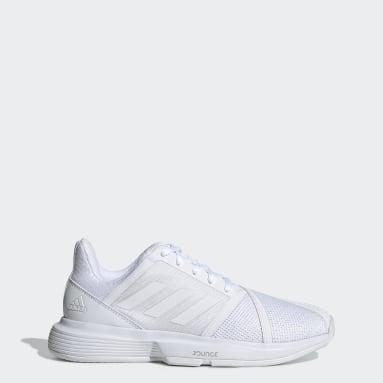 Frauen Tennis CourtJam Bounce Schuh Weiß