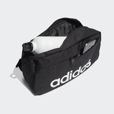 ไลฟ์สไตล์ สีดำ กระเป๋าสะพายไหล่ Essentials Logo