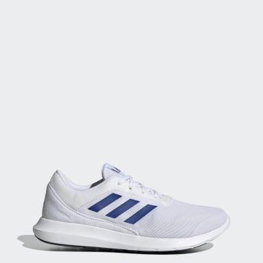 Men Running White Coreracer Shoes