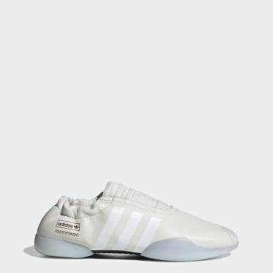 Women Originals White Taekwondo Shoes
