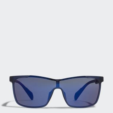 Running Blue Sport Sunglasses SP0019