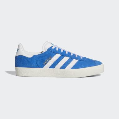 Chaussure Gazelle ADV Bleu Originals