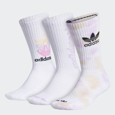 Men Originals Multicolor Colorwash Crew Socks 3 Pairs