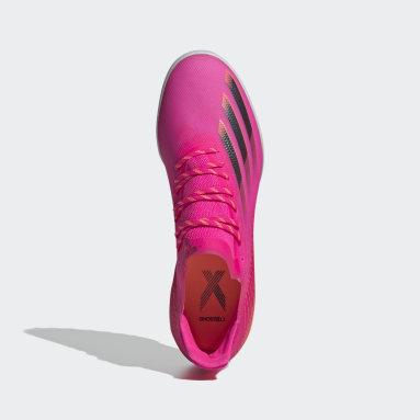 Mænd Fodbold Pink X Ghosted.1 Turf støvler