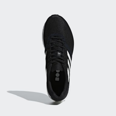 Men Running Black Adizero Adios 4 Shoes