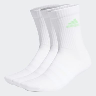 Cushioned Crew Socks 3 Pairs Bialy