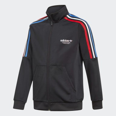 Kids Originals Black Adicolor Track Jacket