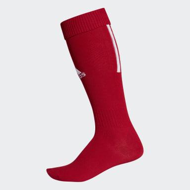 Chaussettes Santos18 rouge Soccer