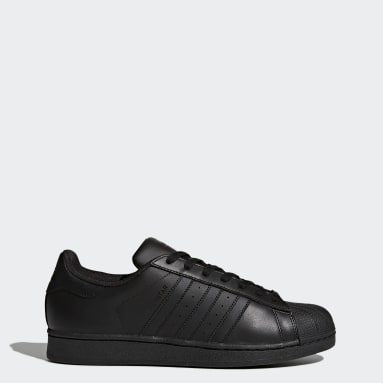 Zapatilla Superstar Foundation Negro Originals