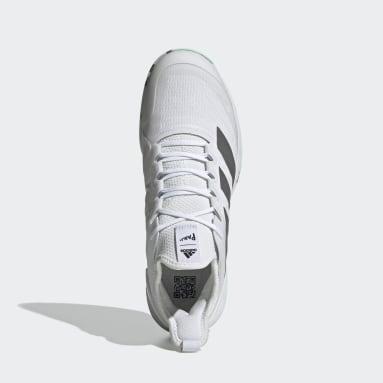 Chaussure Adizero Ubersonic 4 Parley Hard Court Tennis Blanc Tennis
