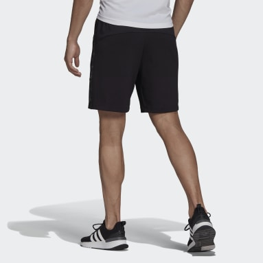 Men Gym & Training Black AEROREADY Designed to Move Sport Motion Logo Shorts